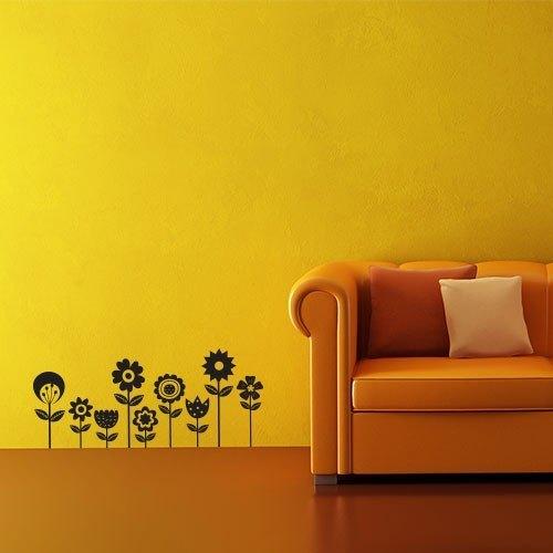 "Vinilo decorativo ""Flores variadas"""
