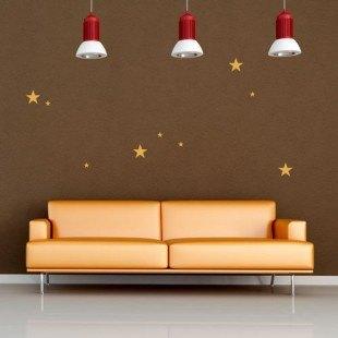 "Vinilo decorativo ""Estrellas"" mosaico"