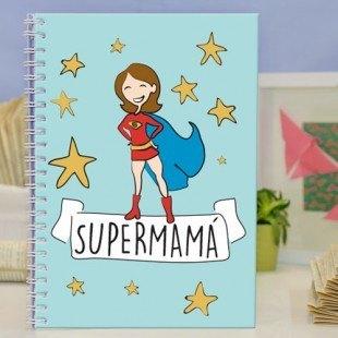 """Cuadernos molones """"Supermamá"""" y """"Superpapá"""""""