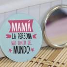 """Espejo para madres """"Mamá, la persona más bonita del mundo"""""""