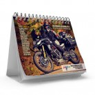 Woman Motorbike